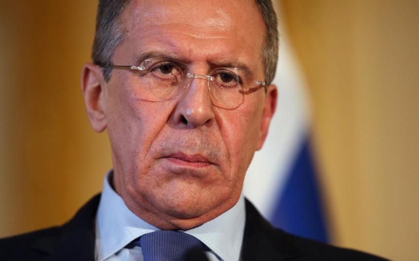 Rusiyanın xarici işlər naziri bu gün Azərbaycana gələcək