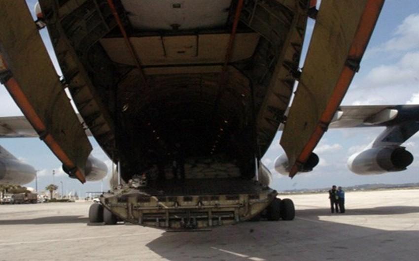 Гуманитарный груз из России прибыл в Сирию