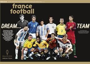 Futbol tarixinin ən yaxşı 11-liyi açıqlandı