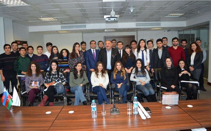 Представители NIKOIL Bank провели встречу со студентами