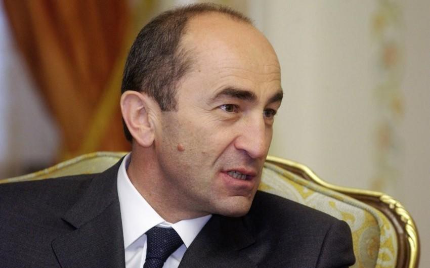 Ermənistanın sabiq prezidentinə qarşı konstitusion quruluşu devirmək ittihamı irəli sürülüb