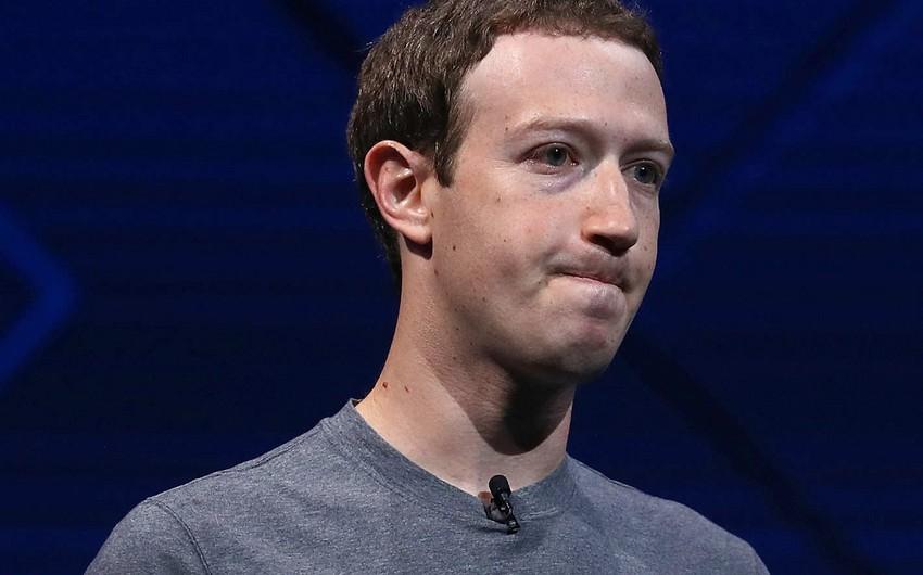 Facebook şirkəti qalmaqal səbəbindən 5 milyard dollar itirib