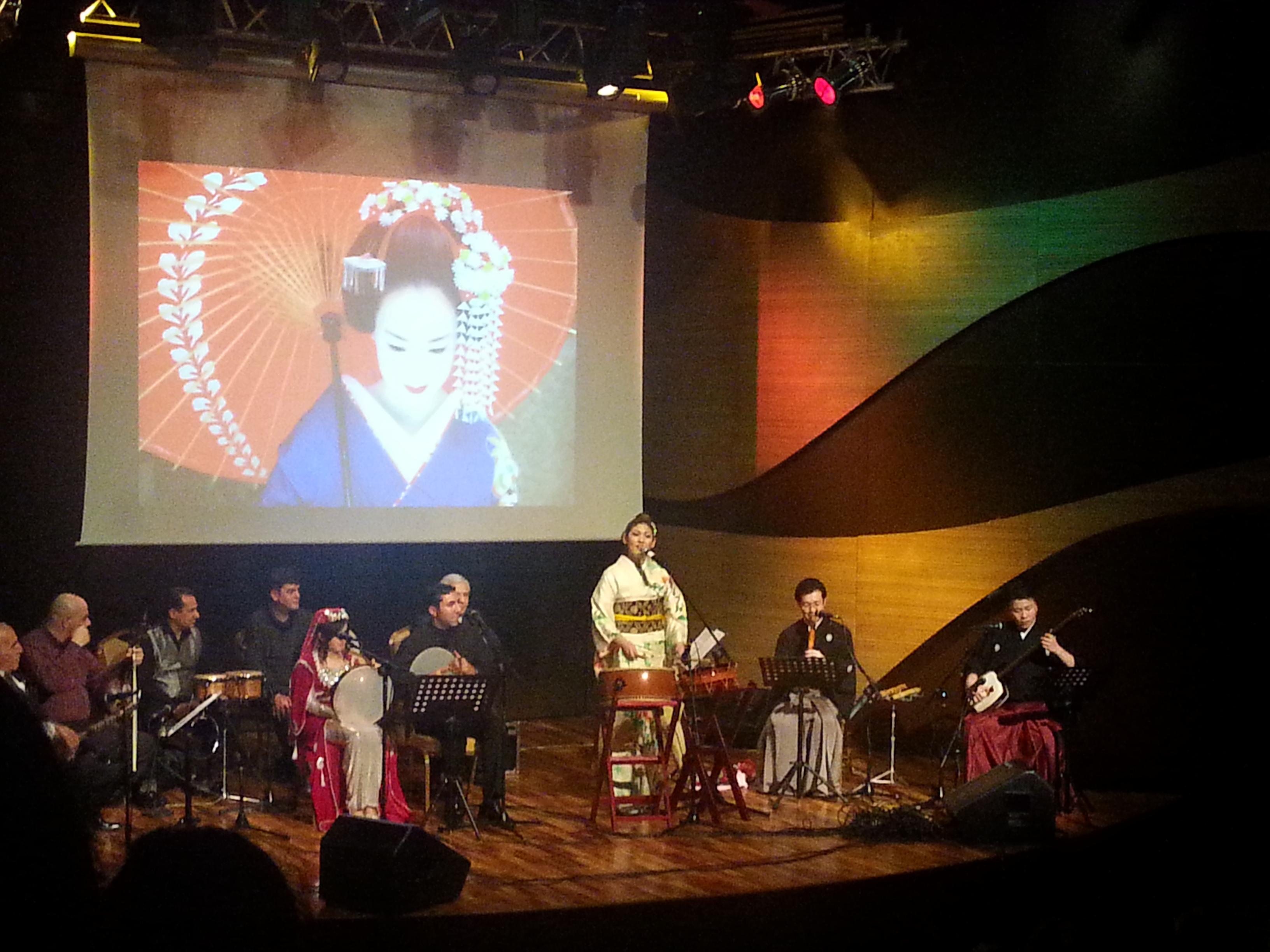 Baku hosted concert of Japanese traditional music