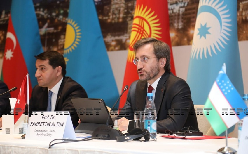 Fahrettin Altun: Turkic world must fight together against new threats