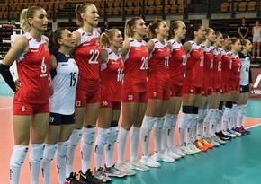 Азербайджанские волейболистки вступают в борьбу на чемпионате Европы