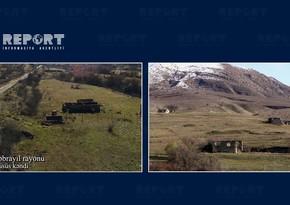 Footage from Nusus village of Jabrayil region