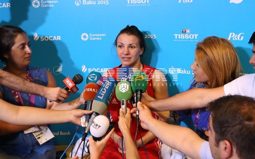 Bakı-2015 Oyunlarının bürünc mükafatçısı: Rio Olimpiadasında Azərbaycan bayrağını yüksəltməyə çalışacağam