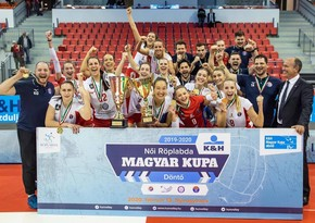 Azerbaijani volleyball player wins Hungary Cup