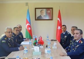 Обсуждены вопросы расширения связей между ВВС Азербайджана и Турции