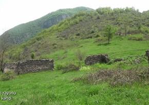 Footage from liberated Garagol village of Azerbaijan's Zangilan district