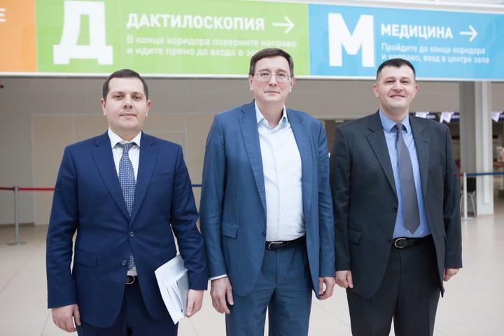Представители посольства Азербайджана посетили Многофункциональный миграционный центр Москвы