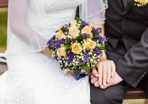 Keçən il Azərbaycanda 32 437 nikah, 13 439 boşanma qeydə alınıb