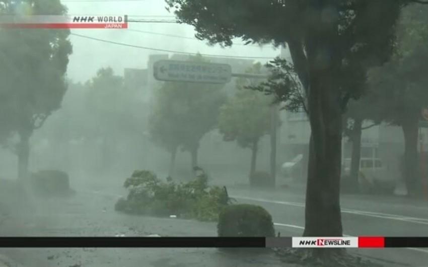 Yaponiyada qasırğa nəticəsində iki nəfər ölüb, daha ikisi itkin düşüb