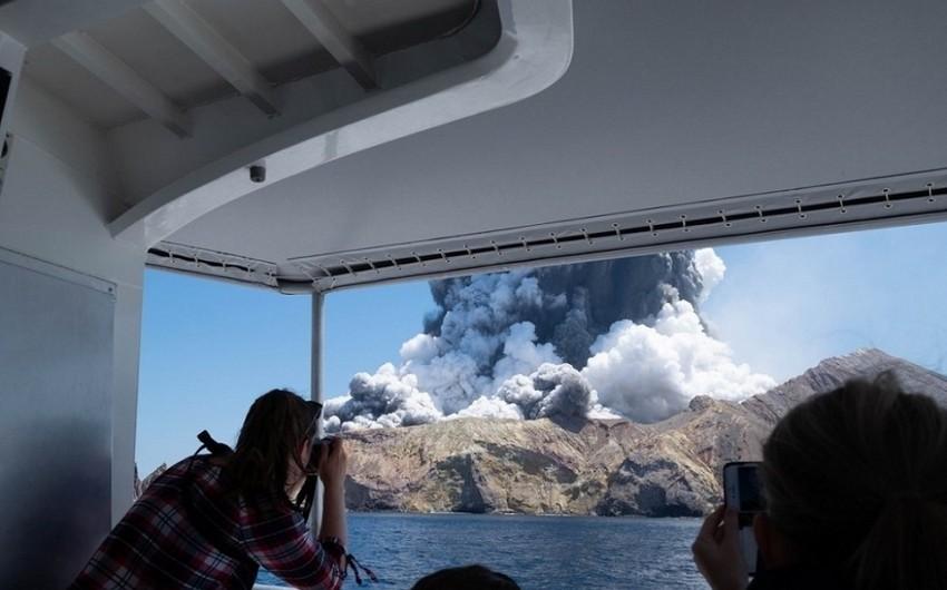Yeni Zelandiyada vulkan püskürməsi qurbanlarının sayı 17 nəfərə çatıb