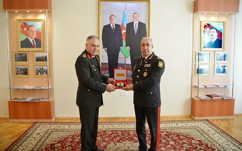 Turkish high-ranking military delegation visits Azerbaijan Military Academy named after Heydar Aliyev