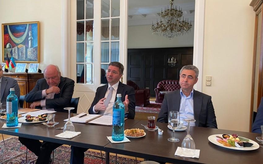 Almaniya-Azərbaycan Forumunun toplantısı keçirilib