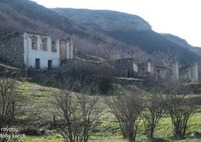 Qubadlının Yuxarı Mollu kəndindən görüntülər