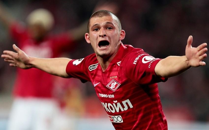 Spartak azərbaycanlı futbolçu ilə yollarını ayırdı