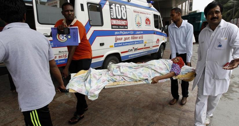 Hindistanda xəstəxanada yanğın zamanı 13 koronavirus xəstəsi həlak olub