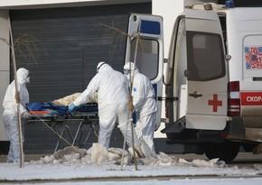 Rusiyada son sutkada 361 nəfər COVID-19-dan ölüb