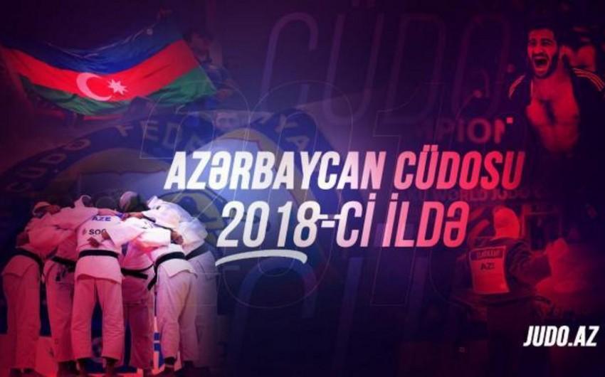 Azərbaycan cüdoçuları bu il 39 beynəlxalq yarışda 177 medal qazanıblar - VİDEO