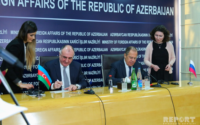 Foreign Ministers of Azerbaijan and Russia discuss Nagorno-Karabakh settlement - UPDATED