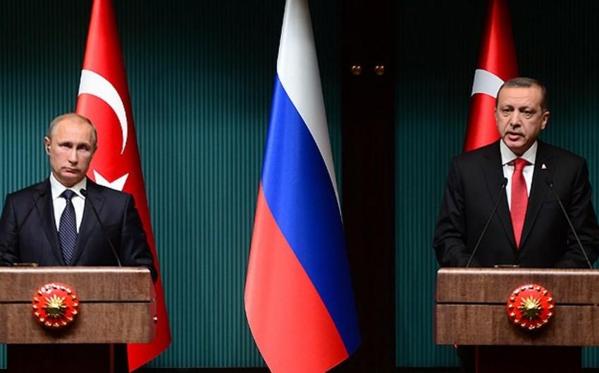 Suriya mövzusu Türkiyə və Rusiya prezidentləri arasında fikir ayrılığına səbəb olub