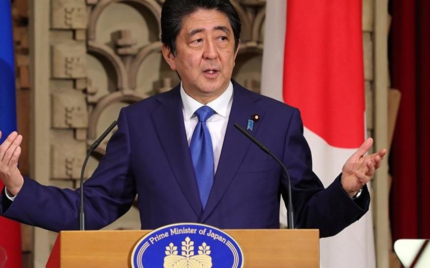 Yaponiyanın müdafiə nazirinə Tokionu tərk etməmək barədə əmr verilib