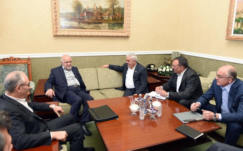 SOCAR prezidenti İranın neft naziri ilə görüşüb
