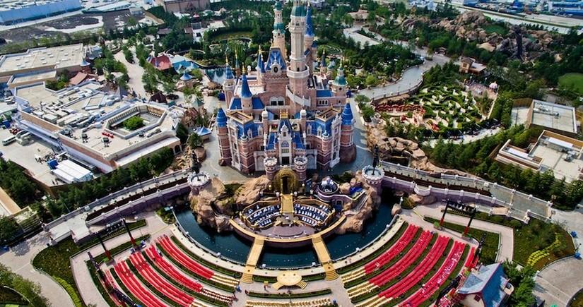 В Шанхае открылся самый высокий отель с рестораном