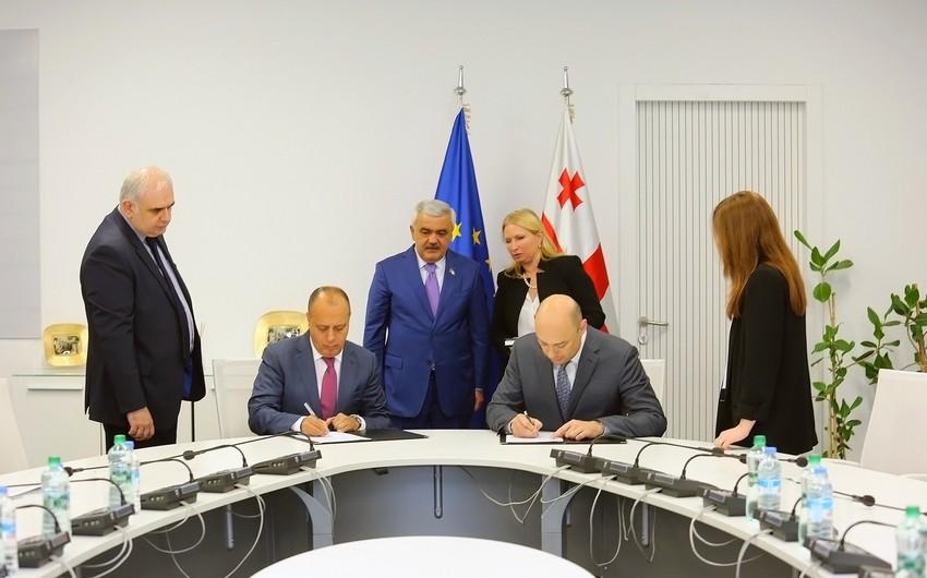 """""""SOCAR Energy Georgia"""" Gürcüstanın İqtisadiyyat və Davamlı İnkişaf Nazirliyi ilə memorandum imzalayıb"""