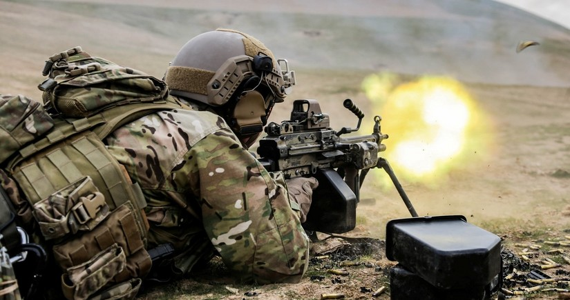 Azerbaijani Army conducts combat operation to liberate occupied teritories
