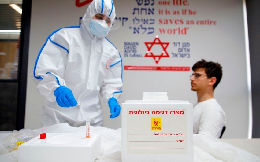İsraildə koronavirusa yoluxanların sayı 16 300-ü keçdi