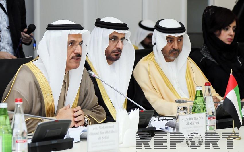 В Баку прошло заседание межправительственной комиссии Азербайджан-ОАЭ