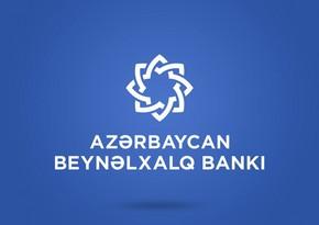 """""""Azərbaycan Beynəlxalq Bankı"""" səhmdarlarına dividend ödəyəcək"""