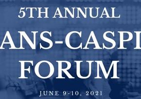 5th Annual Trans Caspian Forum underway in Washington