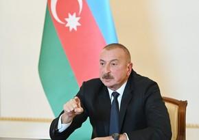 Azərbaycan Prezidenti: Mənim şərtim birdir - çıxsın bizim torpaqlarımızdan