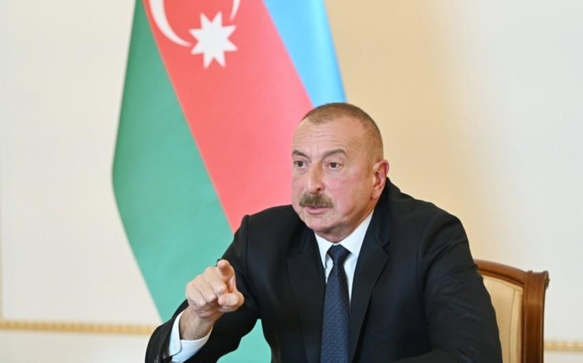 Azərbaycan Prezidenti: Biz özümüzü müdafiə etməli idik