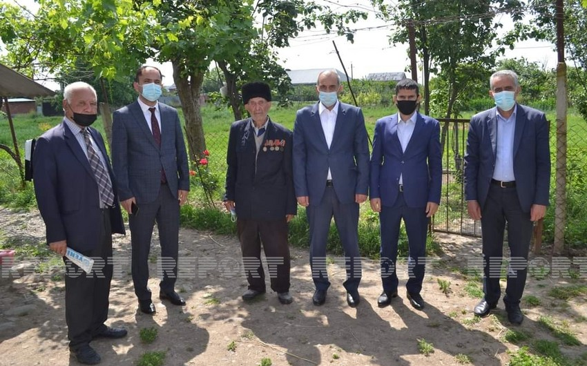 Cəlilabadda İkinci Dünya müharibəsi iştirakçıları ilə görüş olub