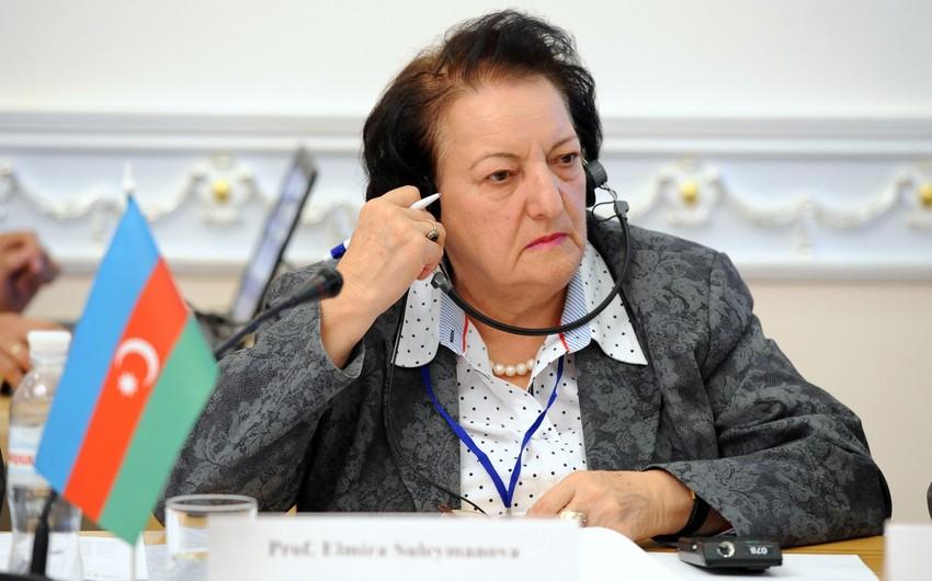 Elmira Süleymanova: Məlumatlıyam, rahat olun