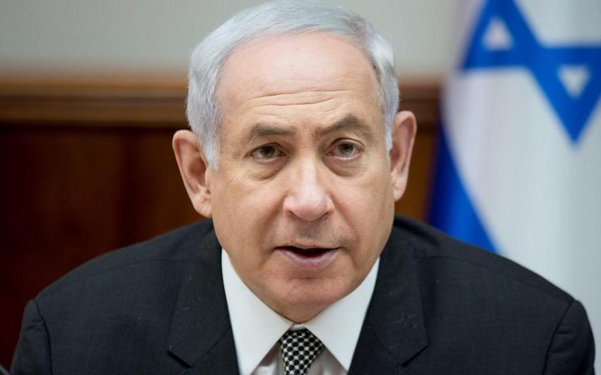Netanyahu: İsrail İranın Suriyadakı hədəflərinə zərbələri artırmağa hazırdır