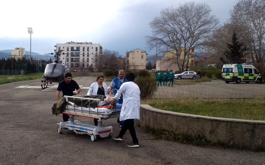 Səhiyyə Nazirliyi: Qudauridəki hadisədə xəsarət alan 8 yaralı hazırda xəstəxanada müalicə olunur
