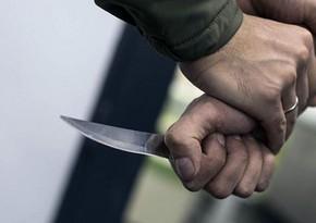 Yasamalda 32 yaşlı şəxs dava zamanı bıçaqladı