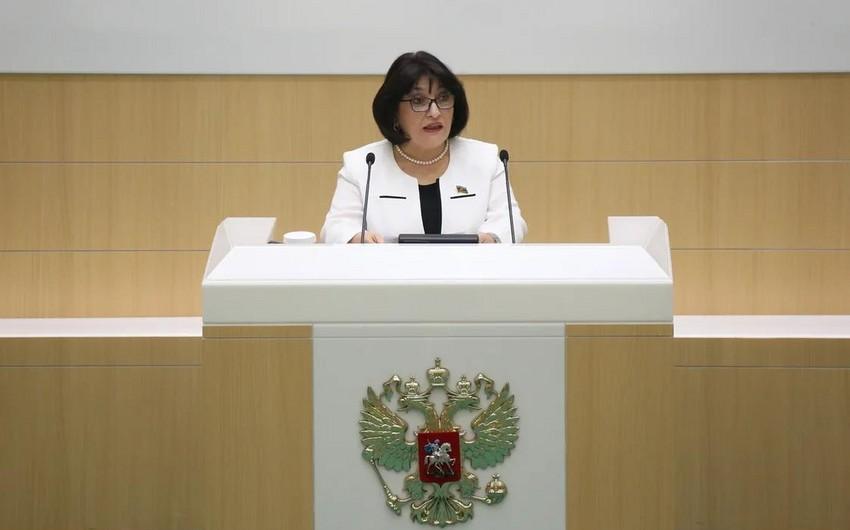 """Sahibə Qafarova: """"Ermənistanın hərəkətləri adekvat cavabını almalıdır"""""""