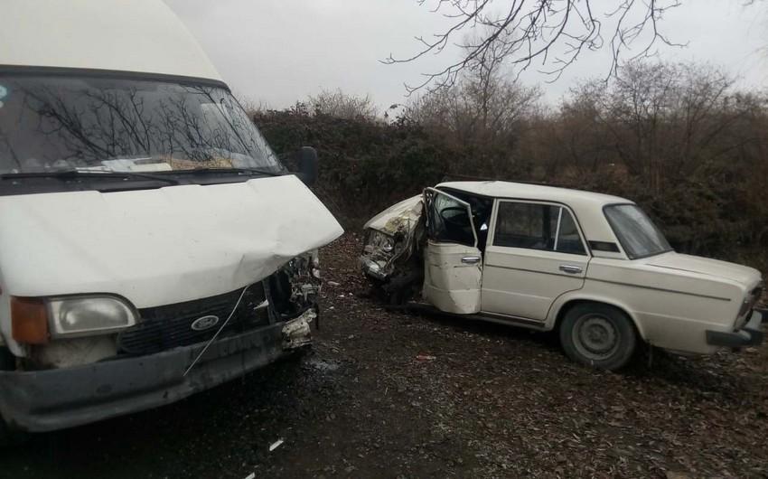 Oğuzda yol qəzasında 90 yaşlı kişi ölüb - FOTO - VİDEO