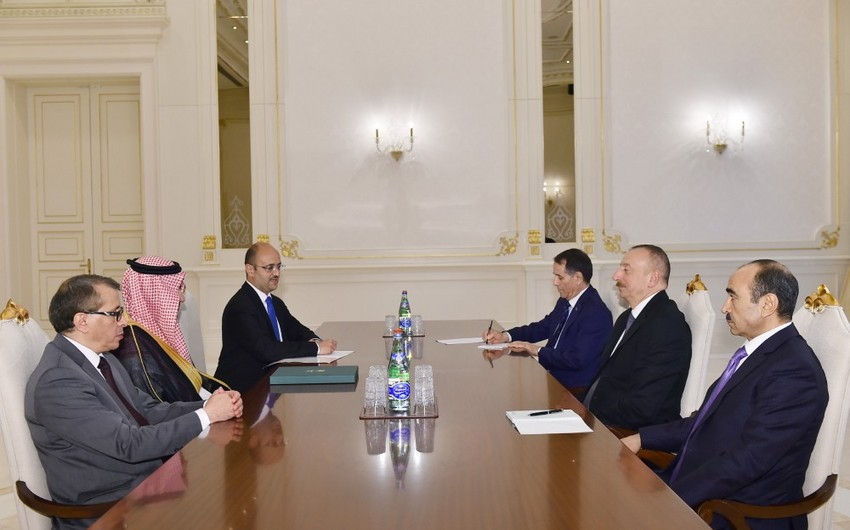 President Ilham Aliyev received Saudi Minister of State for Gulf Affairs