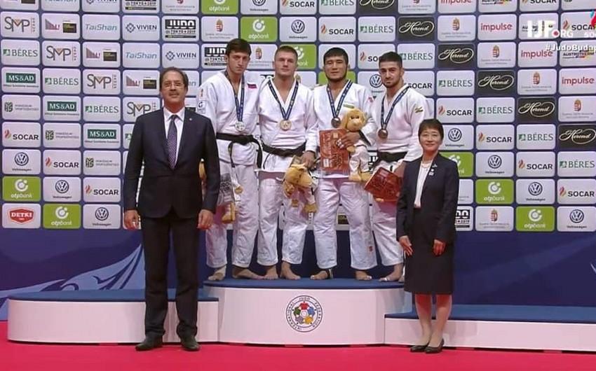Azərbaycan cüdoçusu Qran-pridə bürünc medal qazanıb