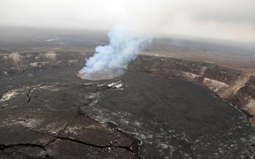 Havay adalarında vulkan püskürməsinə görə insanlar təxliyyə olunurlar - VİDEO