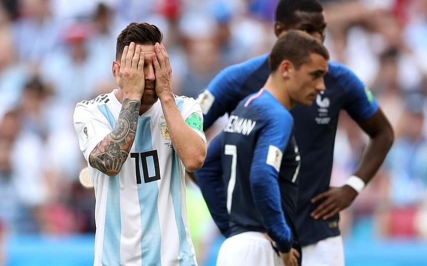 Fransa Argentinanı məğlub edərək 1/4 finala çıxıb - VİDEO