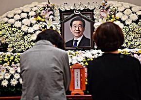 Seoul mayor Park Won-soon's funeral held